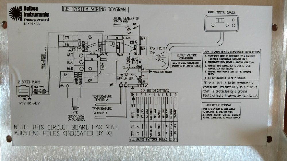spa control wiring diagram no pump, but selenoid click from balboa control - portable ...