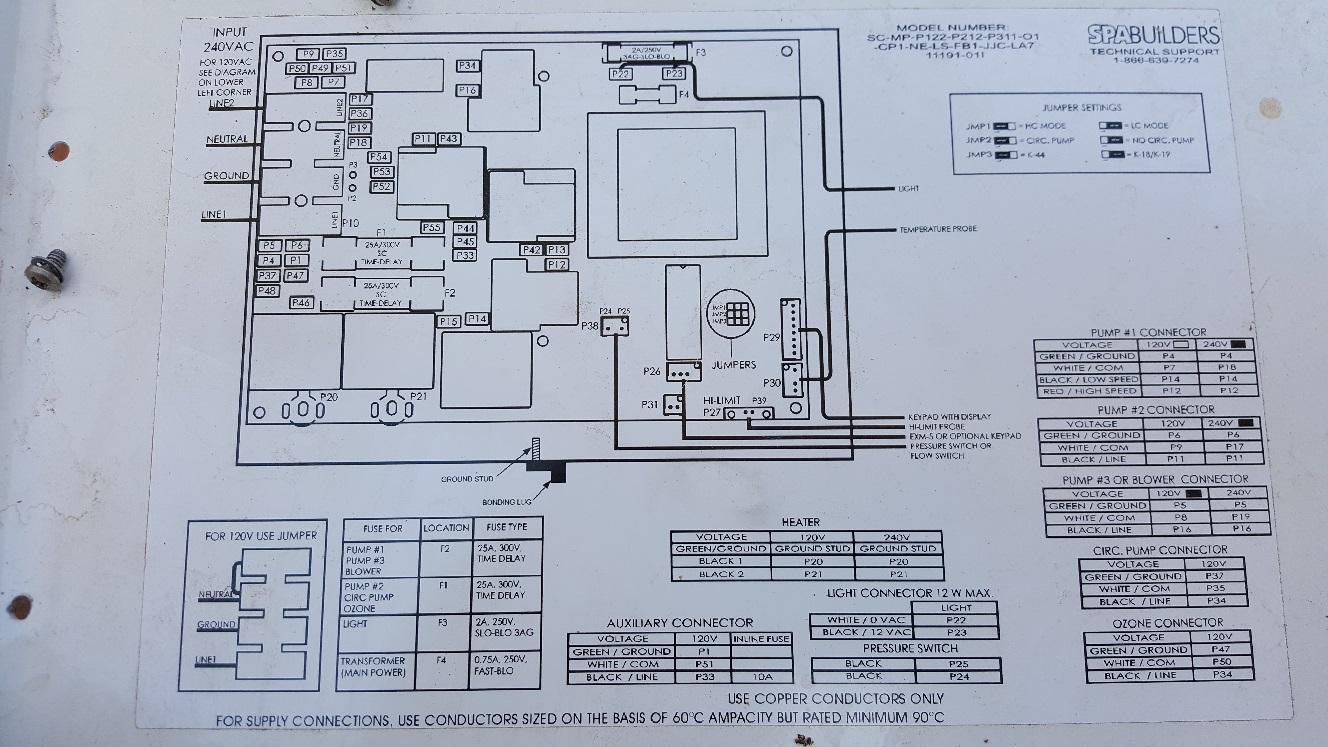 Hot Tub Wiring 120v - Wiring Schematics Jacuzzi Hot Tub Wiring Schematic on